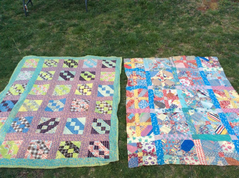 2 Handmade Quilts