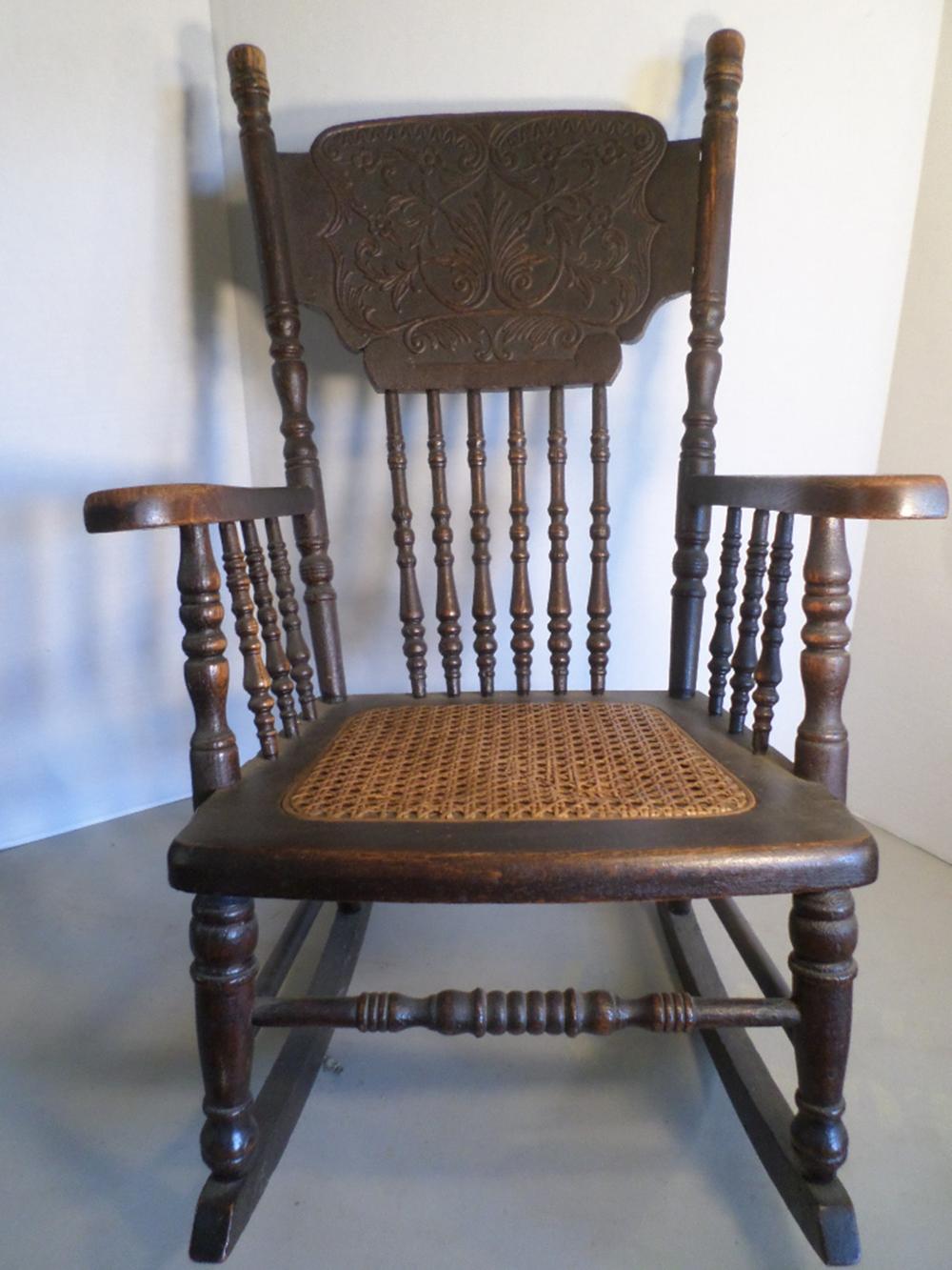 Victorian Childs Rocking Chair