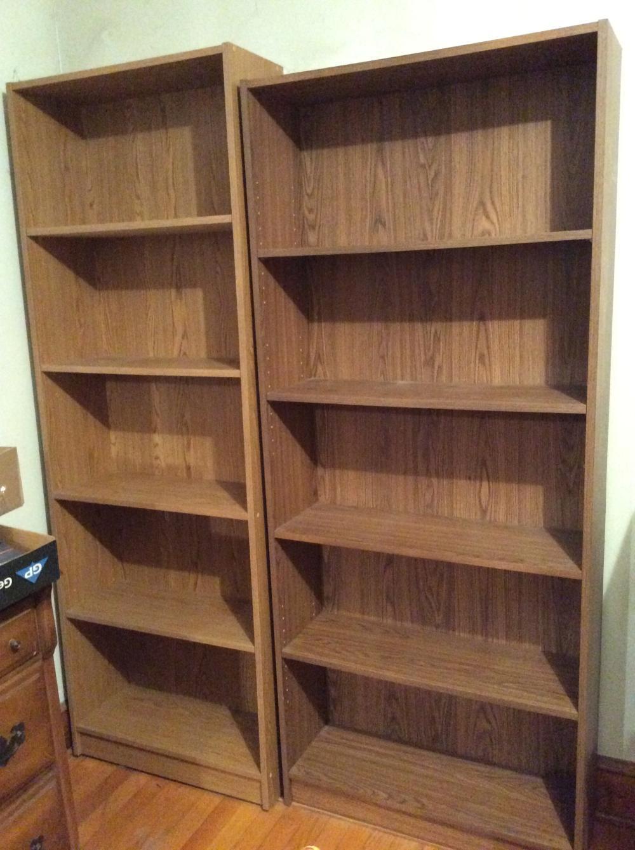 2 Bookcases