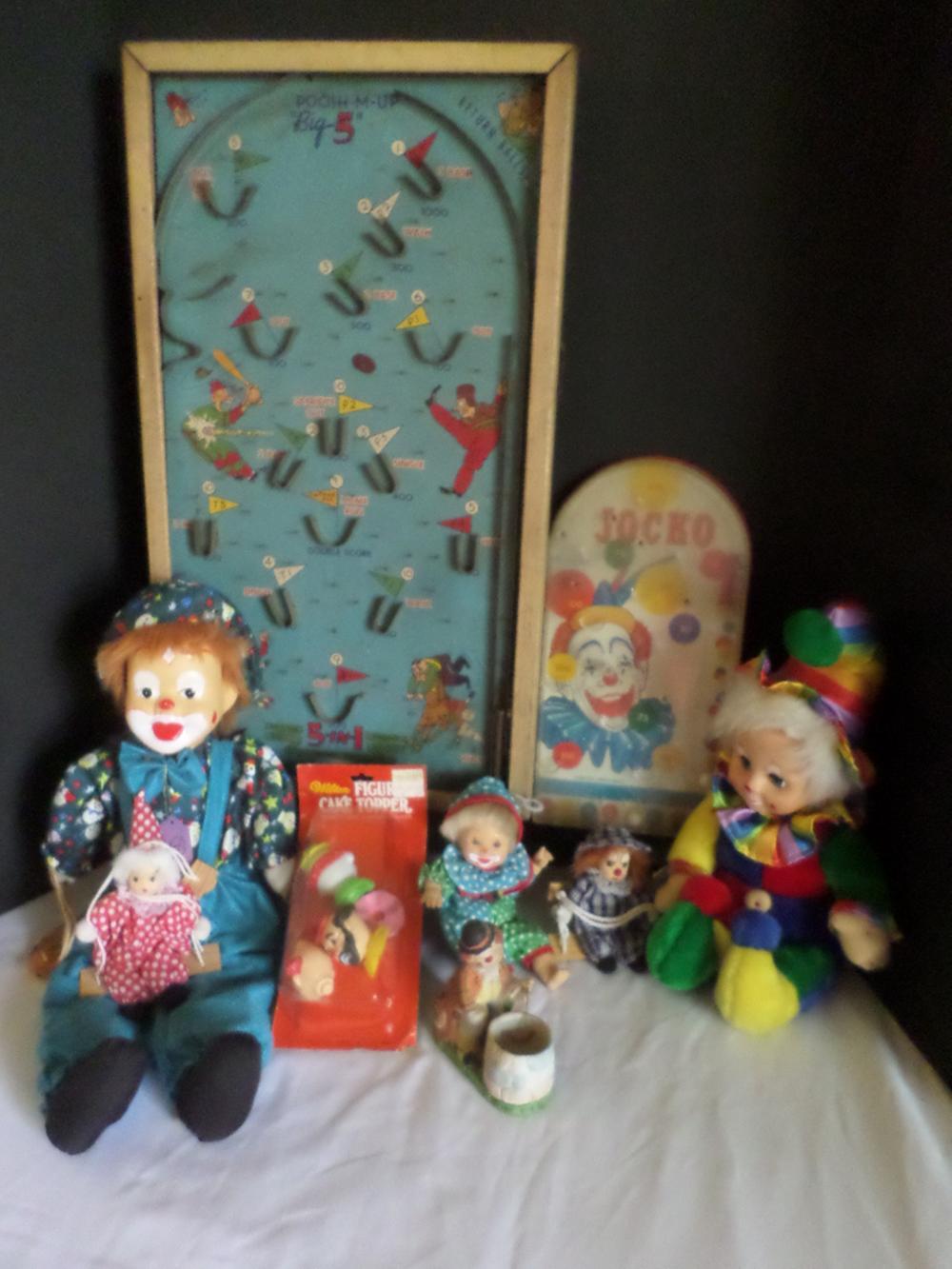 Vintage Clowns--Toys & Dolls