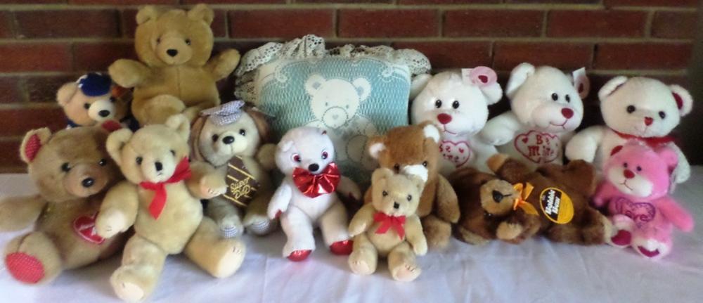 Assorted Stuffed Bears