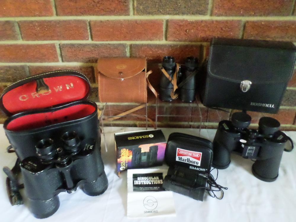 Binoculars (All /w Cases)