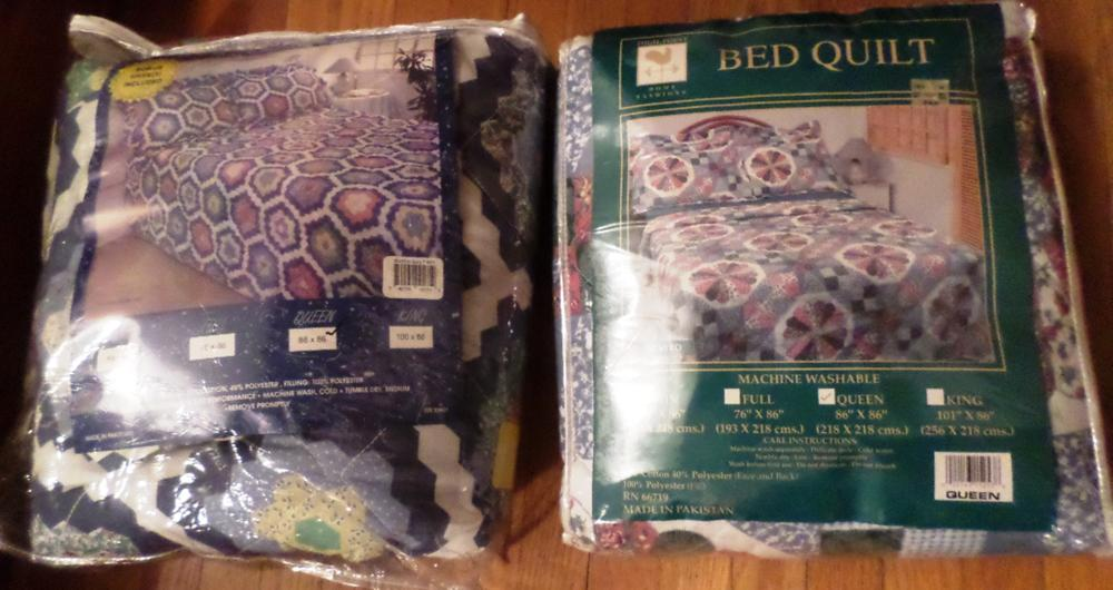 2 Queen Quilts in Package