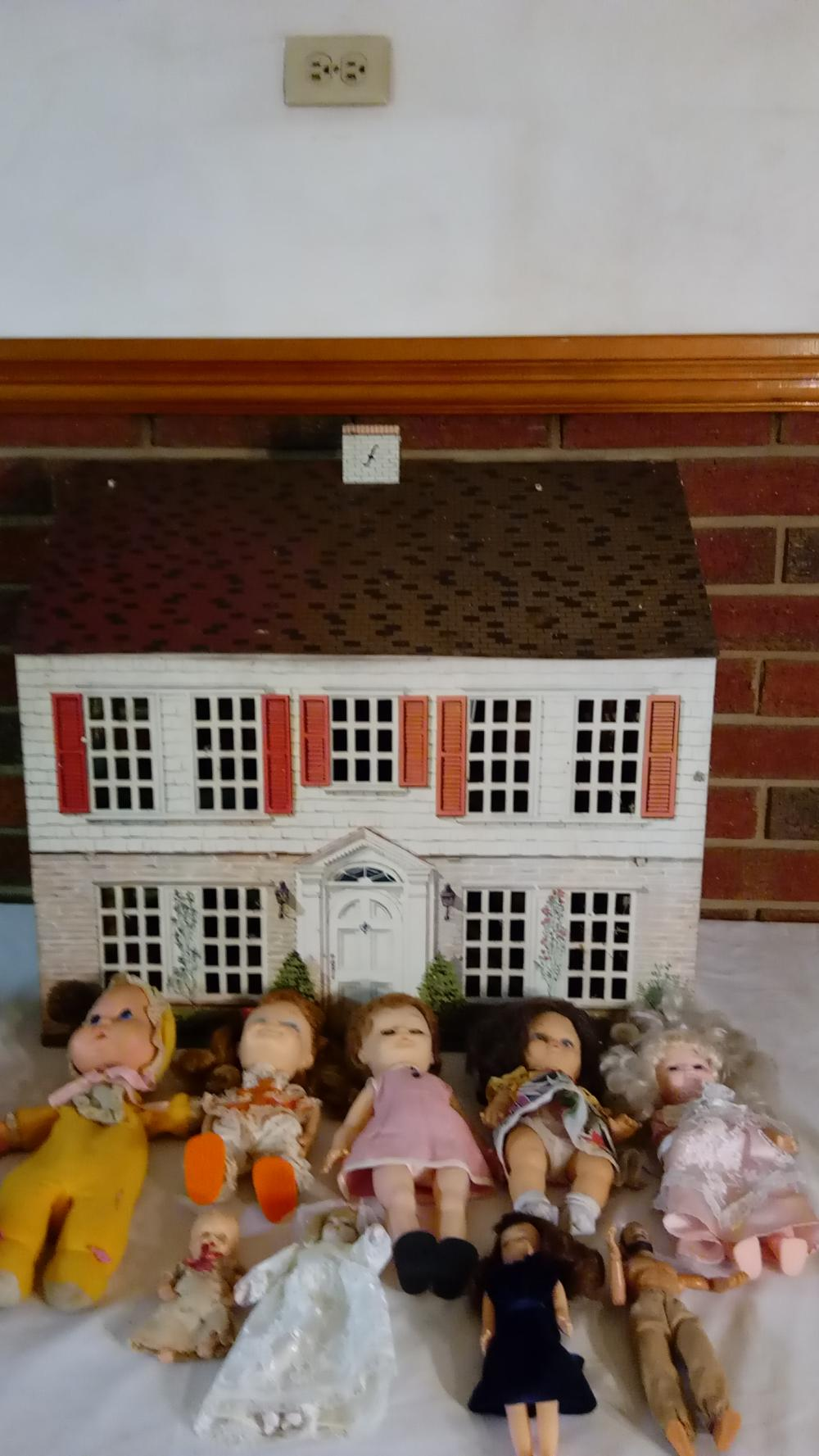 Vintage Tin Doll House