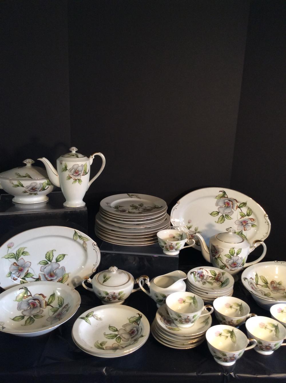 Roselyn China Dinnerware Set