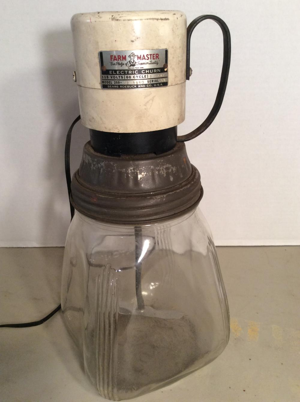 Vintage Sears Roebuck, Farm Master Electric Churn