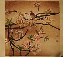 Chinese antique water color painting