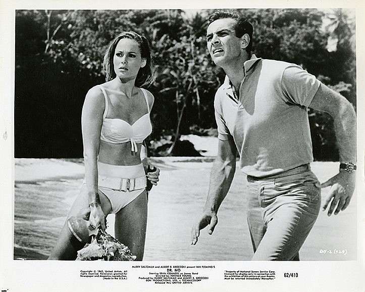 James Bond to Emma Peel collection of (19) secret-agent stills.