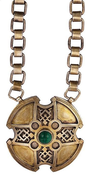 """""""Sonja's"""" pendant screen-worn by Michael Sheen as """"Lucian"""" in Underworld."""