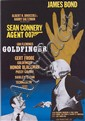 Goldfinger Swedish 1-sheet poster.