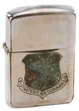 James Stewart crew lighter from Strategic Air Command gifted to critic Milton Luban.