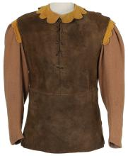 Moe Howard suede tunic from Snow White and the Three Stooges.