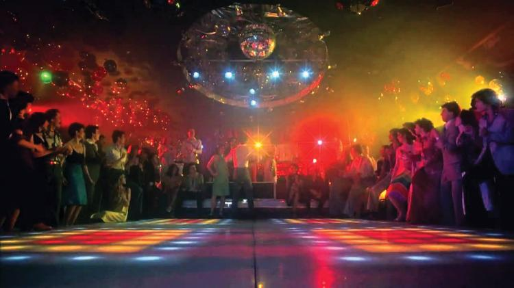 Legendary Illuminating Dance Floor From Saturday Night Fever