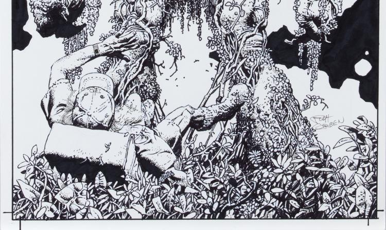 Richard Corben Swamp Thing 7
