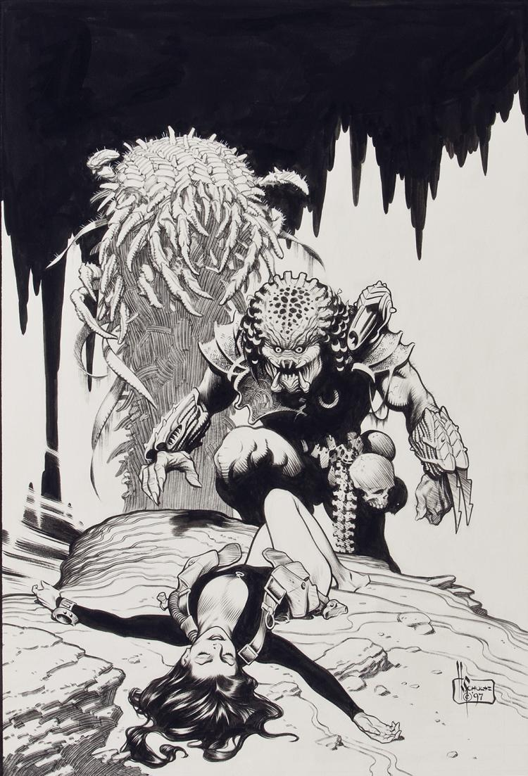 Eccezionale Mark Schultz Artwork for Sale at Online Auction | Mark Schultz  NH37