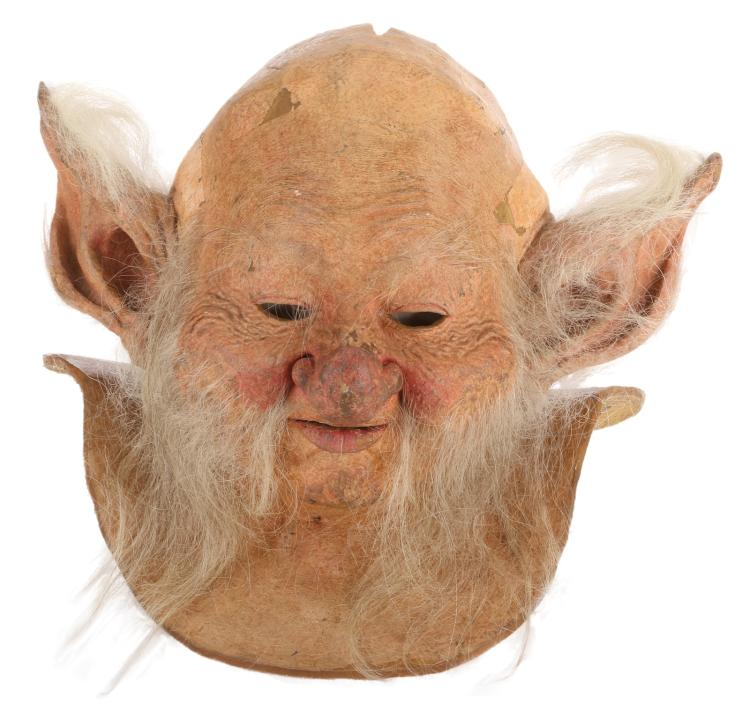 billy barty screwball mask created by rob bottin for legen. Black Bedroom Furniture Sets. Home Design Ideas