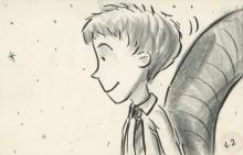 James and the Giant Peach (6) storyboard drawings.
