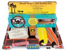 Donald J. Trump 50th Birthday Party invitation for Loni Anderson.