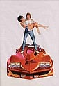 Image 2 for (2) Original poster art paintings for Corvette Summer.