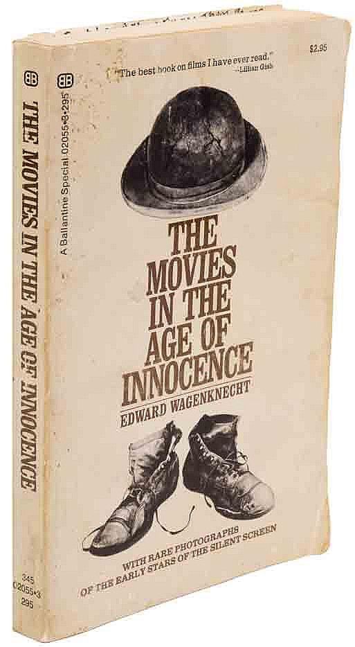 Mary Miles Minter diary and personally annotated copy of The Movies in the Age of Innocence.