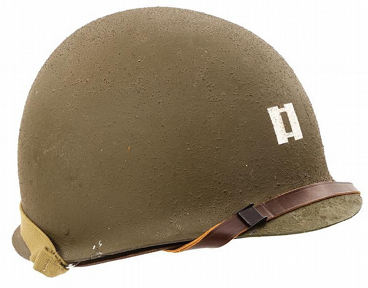 Tom hanks capt miller helmet from saving private ryan for Food bar saving private ryan