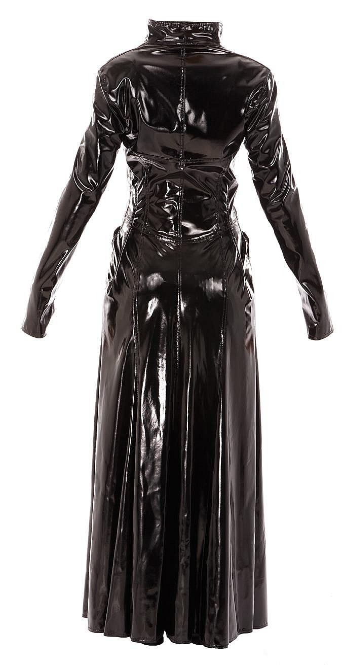 """Carrie-Anne Moss """"Trinity"""" costume created for The Matrix Re"""