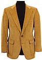 Steve McQueen personal tan corduroy jacket.