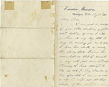 Grant, Ulysses S. Autograph letter signed (