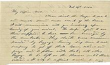 Grant, Ulysses S. Autograph manuscript signed (