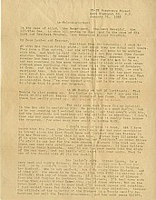 Malcolm X [Malcolm Little]. Typed letter signed (