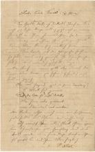 Einstein, Albert.  Autograph letter signed, 20 December 1900.