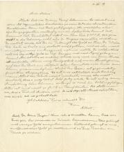 Einstein, Albert.  Autograph letter signed, 5 December 1919.