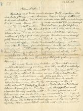 Einstein, Albert.  Autograph letter signed, 15 December 1920.