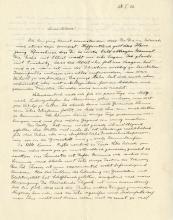 Einstein, Albert.   Autograph letter signed, 28 January 1926.