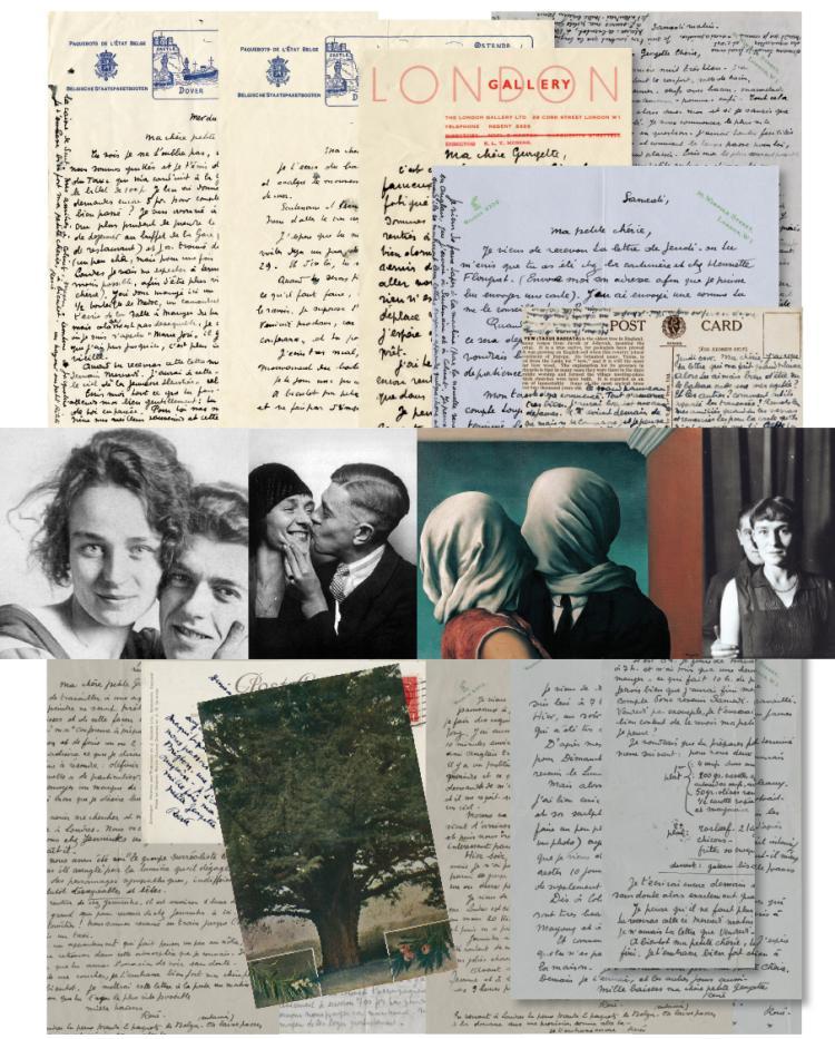 Magritte, René.  An important unpublished archive.