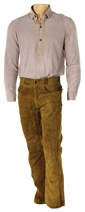 """David Carradine """"Kwai Chang Caine"""" costume from Kung Fu"""