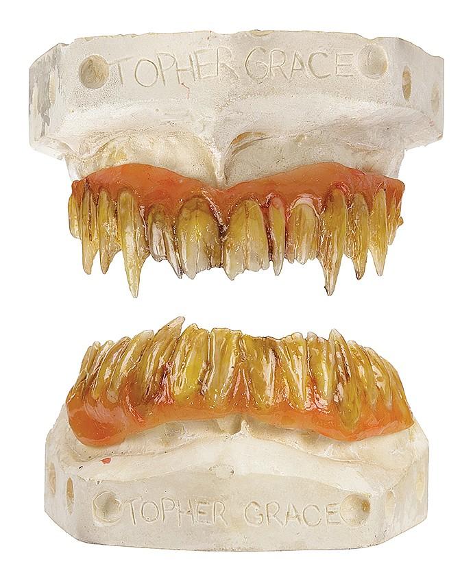 Topher Grace Venom Teeth