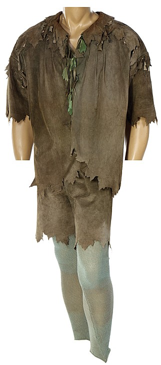 """Robin Williams """"Peter Pan"""" costume from Hook."""