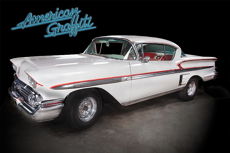 Ron Howard Steve S Screen Used 1958 Chevrolet Impala From
