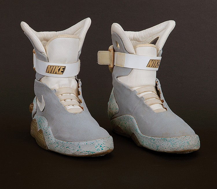 """Marty McFly"""" 2015 Nike """"Mags"""" self lacing shoes from Back t"""