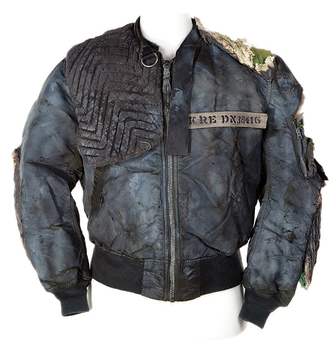 "Michael Biehn ""Kyle Reese"" futuristic rebel jacket from The"