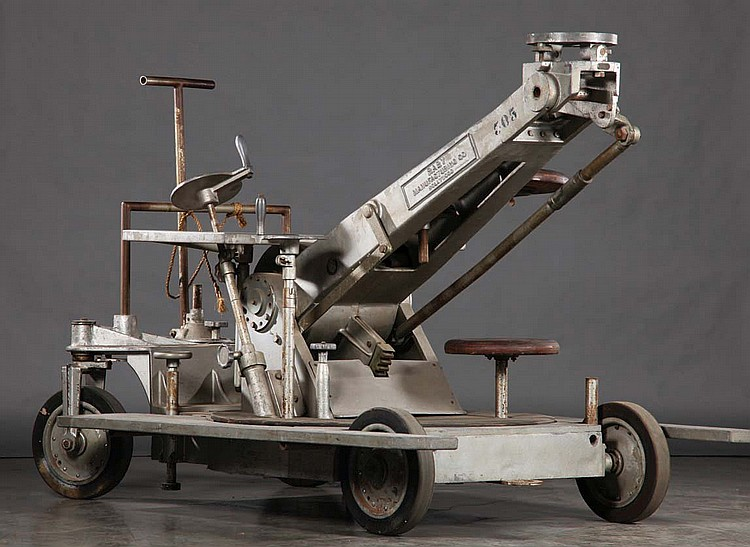 Richard Edlund camera dolly used for filming Star Wars: Episode IV- A New Hope.
