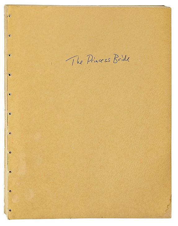 The Princess Bride original script.
