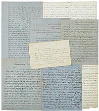 [Civil War - Shiloh.] Collection of seven letters relating to the Battle of Shiloh.