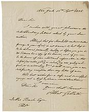 [American Financiers.] Group of 11 letters written by signers of the Declaration of Independence