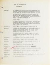 Bill Scott's personal scripts (57) and artwork for the Rocky and Bullwinkle Show.