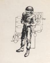 Artwork archive from U.S. aerospace contractor Marquardt Corporation.