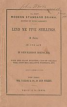 Booth, John Wilkes. Printed pamphlet signed (