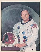 Armstrong, Neil. NASA photograph signed (