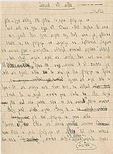 Begin, Menachem. Autograph manuscript signed (